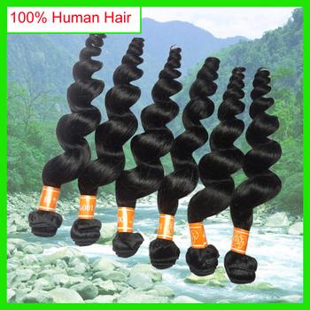 Amapro Перуанский Распущенными Волосами Волна Дешевой Цене Перуанский Свободная Волна Наращивание Волос, хорошее Качество Волос, Плетение Волнистые Пучки 6 шт./лот