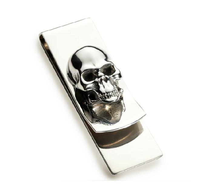 M Clamp Money Clip Modern Skull cl...