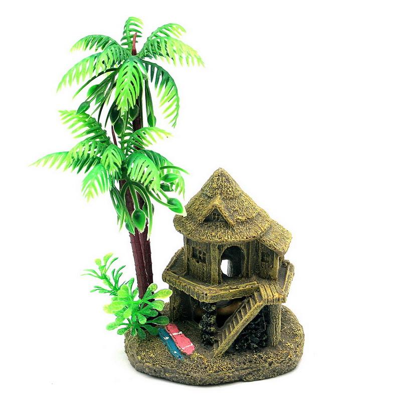 Decoration Aquarium Noix De Coco : De noix coco en plastique promotion achetez des