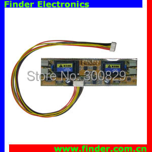 Universal LCD Backlight Inverter Board for 4 Lamps of TV / Monitor (Small Plugs), 5pcs/lot for saving freight charge(China (Mainland))