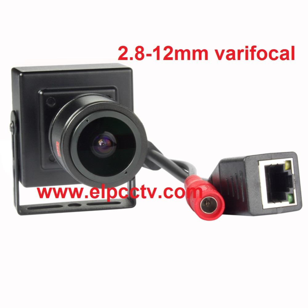 Камера наблюдения ELP 1mp Hd 720p /onvif Ip 2.8/12  ELP-IP1882-FV камера наблюдения elp 1080p full hd onvif 2 0 p2p h 264 ip 1080p 2 8 elp ip1882 l28 mic