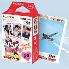 High qulaity 10 Fujifilm Instax Mini Instant Cartoon Film for 7s 8 25 50s 90 (Mickey Mouse) free shipping