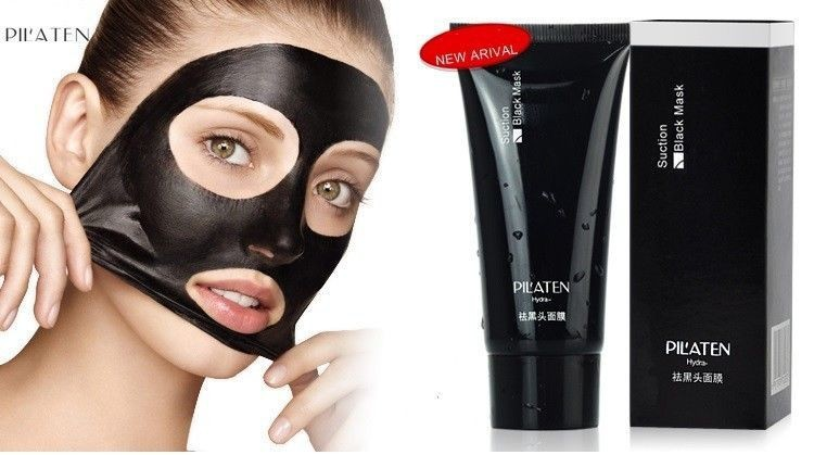 pilaten suction black mask 6 гр