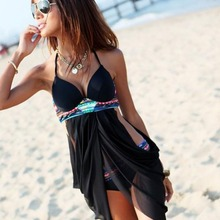 Women's Bandage Bikini Set Push-up Padded Bra+Underwear Swimsuit Bathing Suit Swimwear HB88(China (Mainland))