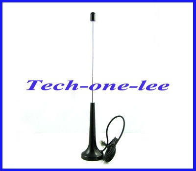 1pcs F male connector Telescopic Digital Freeview 16dbi ~ 17dbi gains DVB-T TV HDTV Antenna Aerial free shipping(China (Mainland))