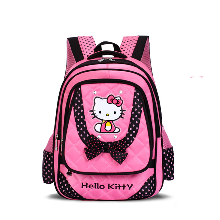 Newest Hello Kitty Designer Backpack Girl School Bags Primary School Students Schoolbags For Girls For Grade1-6 Girl Book Bag<br><br>Aliexpress