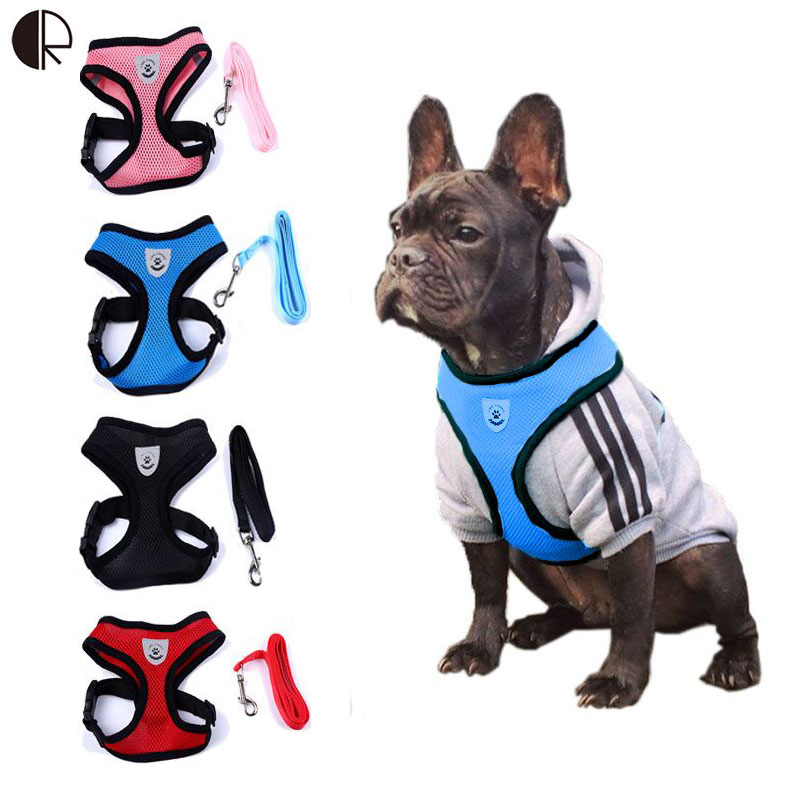 Lovely Cute Small dog Harness Pet Collar Supplies Chihuahua Dog Leash Lead Set Perro Honden Pet Shop Pet Harness Dog Harness(China (Mainland))