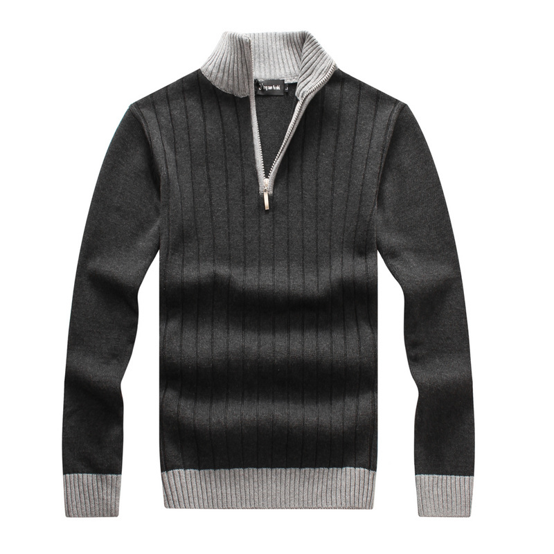 Fashion men pullover brand peru ugly cashmere wool male for Mens sweater collared shirt