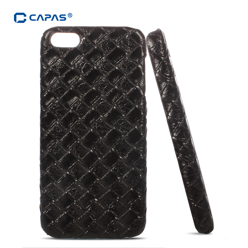 Fashion Carbon Cover for iPhone SE 5S Back Case Original CAPAS Carbon Fiber Pattern Protective Shell Black Fundas +Tracking Code(China (Mainland))