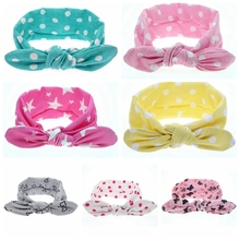 Buy Hot! Children girls headbands Baby cute rabbit ear headwraps Girls fashion hair accessories Kids bowknot hair bands 1pc HB456 for $1.04 in AliExpress store