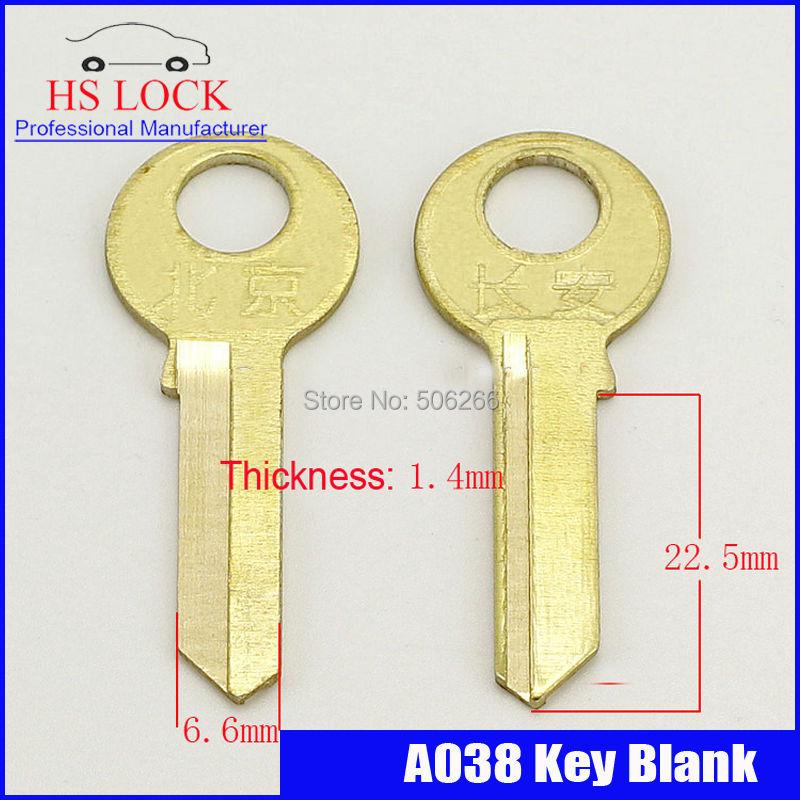 changan 1.2 right bath House Home Door Key blank Locksmith Supplies Blank Keys cilvil Horizontal key machine A038(China (Mainland))