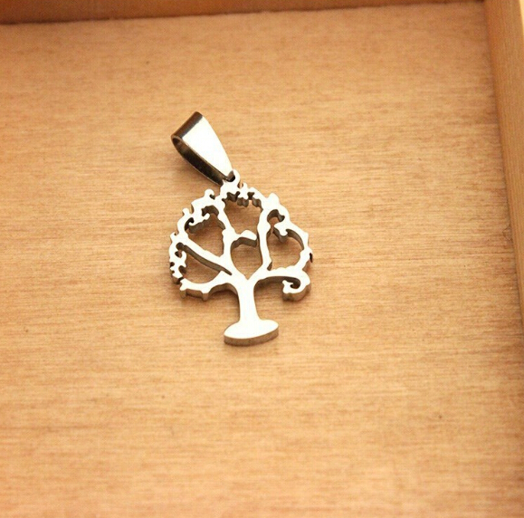 2015 New Products Stainless Steel Tree Necklace Pendant Tree Of Life Jewelry Necklace For Father(China (Mainland))