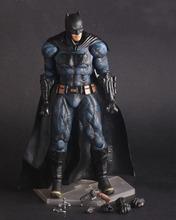 Anime Figurines Crazy Toys Superhero Batman vs Superman Dawn of Justice Batman Action Figure PVC Doll Collectible Model Toy 25cm