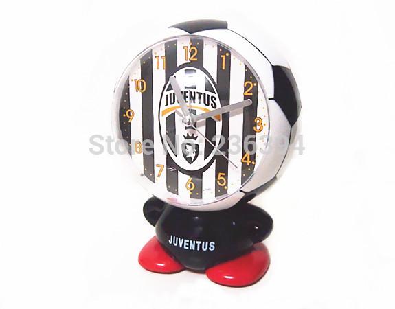Juventus Soccer Football Club Fan's Boys Toy Gift Singing Alarm Clock New In Box(China (Mainland))