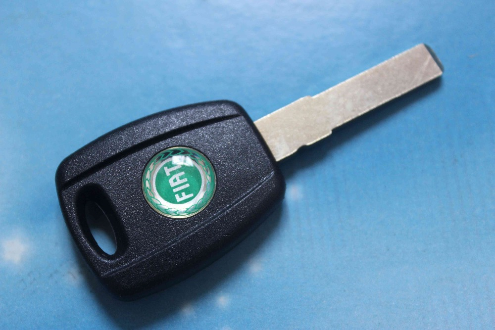 High Quality Car Key Shell Fiat Transponder Key Case Blank Cover + Free Shipping(China (Mainland))