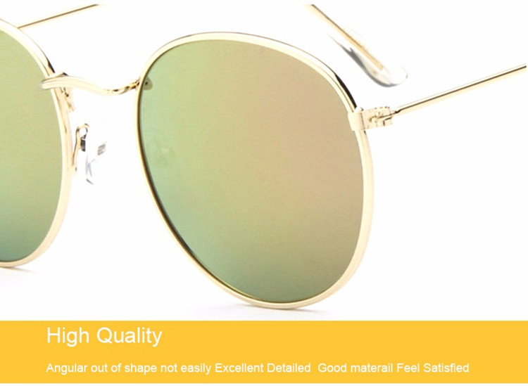 Luxury Vintage Round Sunglasses Women Brand Designer Female Sunglass Points Sun Glasses For Women Lady Sunglass Mirror 2017 Rays (22)