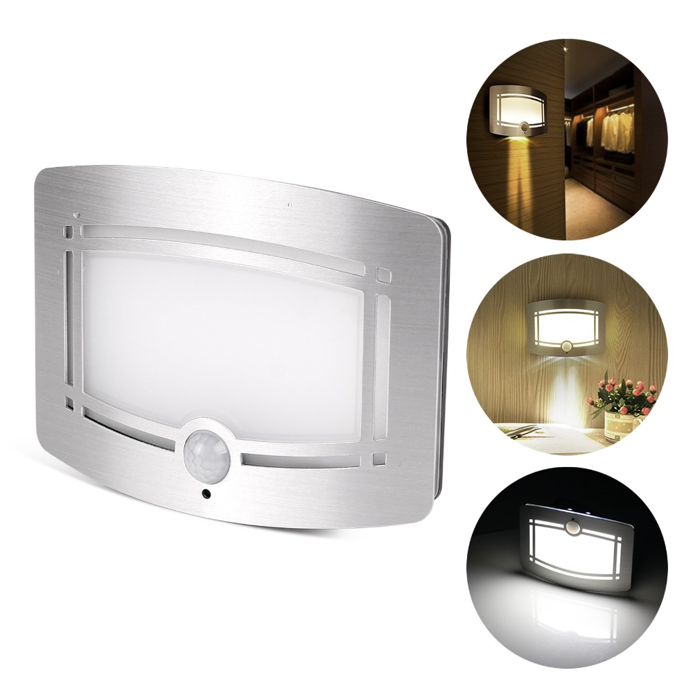 Led Luxury Aluminum Stick Anywhere Bright Motion Sensor