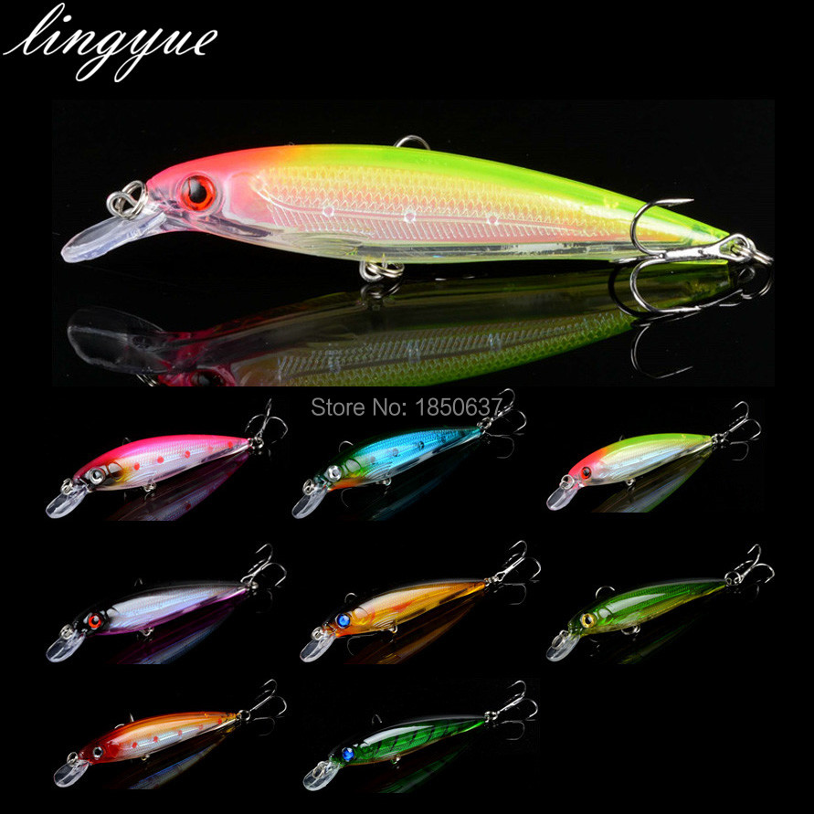 1pcs Laser Hard Minnow Fishing Lures 11cm/13.4g good quality Fishing Tackle