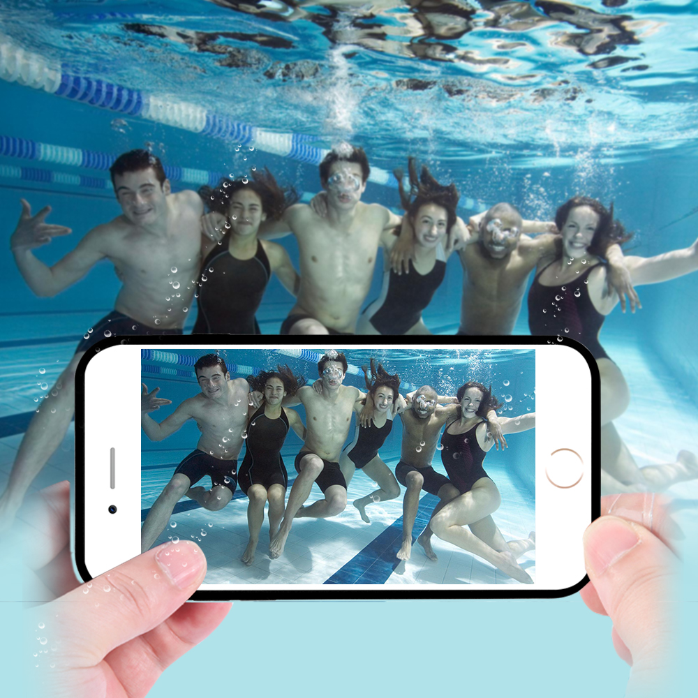 Waterproof Case For iPhone 6 6S 4.7 For iPhone 6 Plus/ 6S Plus 5 5S SE Underwater Swim Diving Phone Bag With Touch Screen Cover(China (Mainland))