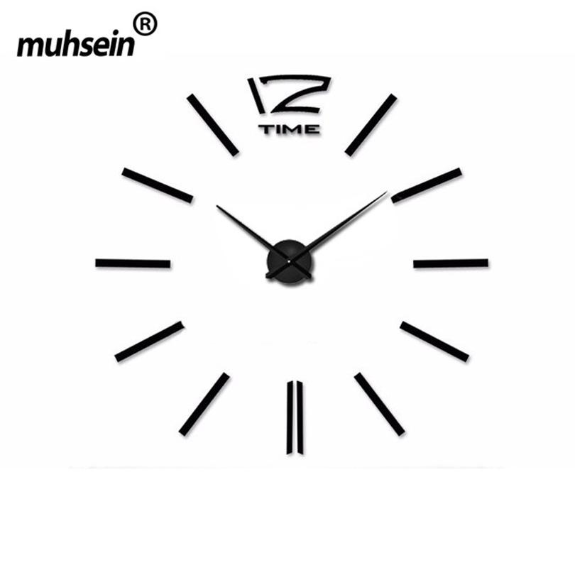 Achetez en gros moderne d coratif horloge murale en ligne - Horloge murale grande taille ...