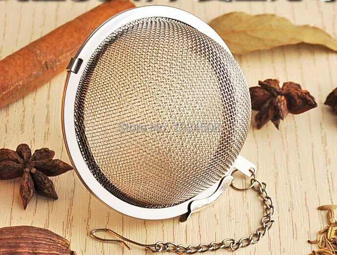 5.2CM diameter stainless steel tea infuser ball homebrew hop ball(China (Mainland))