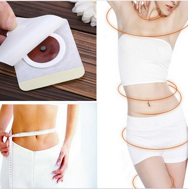 Hot Sales Slimming Function Navel Stick Magnetic Slim Patches Sharpe Weight Loss Burning Fat Patch 60pcs