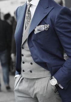 Blue wedding suit lapel groom suits 2015 Modern Tuxedos Gentleman Gun collar classic groom tuxedoslack(China (Mainland))