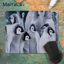 MaiYaCa My Favorite pinguin Customized MousePads Computer Laptop Anime Mouse Mat Rubber PC Computer Gaming mousepad(China)