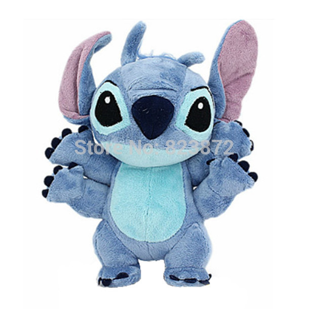 Lilo and Stitch Toy 626 Experiment 4 Hands Stitch Plush Doll 22cm Stuffed Soft Toys for Children Kids Gifts(China (Mainland))