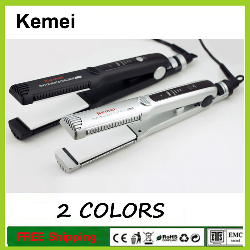 Professional hair straightener ceramic pull straight board straight clip straightening Electronic Hair Style Straightening Irons