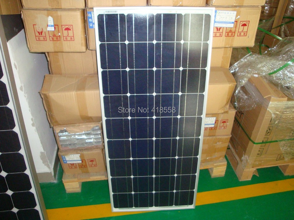 mono and poly solar panel manufacturer in china with lower price 100W solar panel a grade solar cell(China (Mainland))