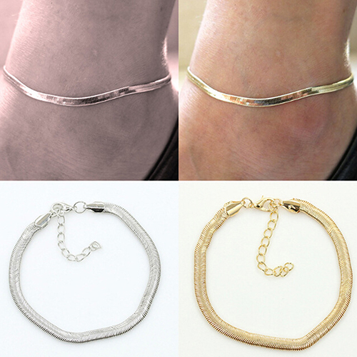 Women's Sexy Fish Scales Anklet Chain Beach Sandal Ankle Bracelet Foot Jewelry