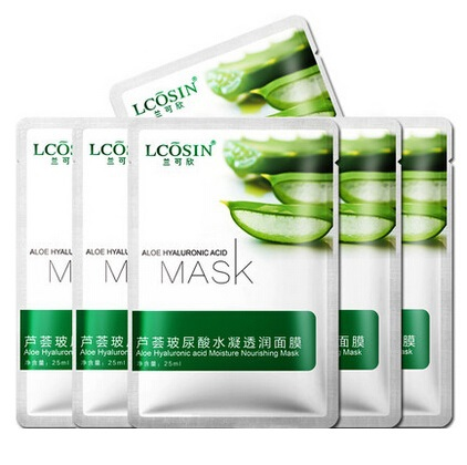 caini face care tony moly hyaluronic acid facial mask 3pcs spring and summer whitening moisturizing astringe pores acne(China (Mainland))