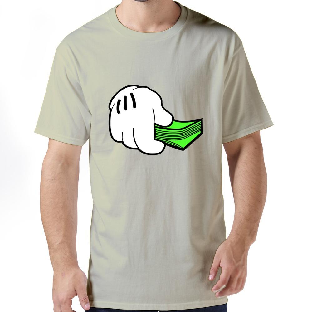 Funny homewear clothing funny money t shirts for gentleman korea(China (Mainland))