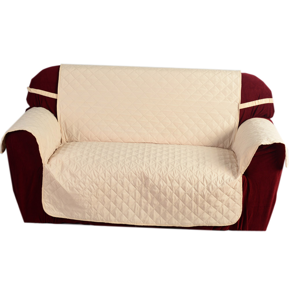 Popular microfiber sofa covers buy cheap microfiber sofa for Quilted sectional sofa cover
