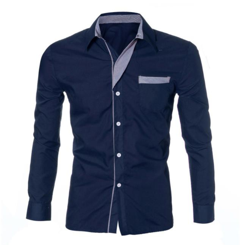 Brand new plus size shirts 2016 spring casual men shirt for Mens dress shirts sizes
