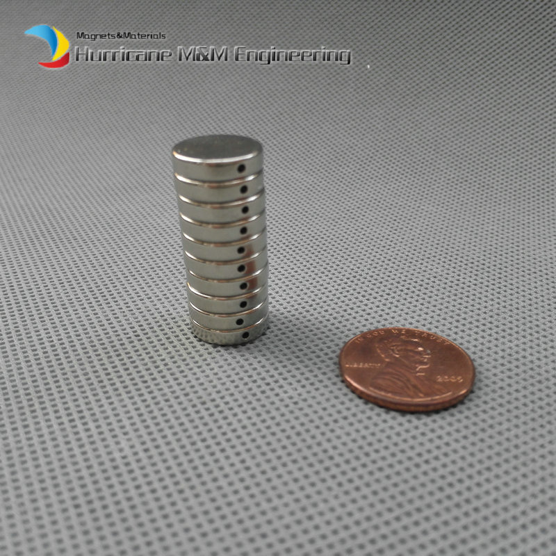 1000 pcs Bead Magnet Disc Dia 13 x 3mm Dia1 hole NdFeB Beading Magnet Strong Neodymium Magnets Rare Earth Magnets Permanent<br><br>Aliexpress