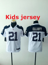 Kids youth Free fast shipping Best Quality Tony Romo,Emmitt Smith,Cole Beasley,Sean Lee,Jason Witten,Ezekiel Elliott,for youth(China (Mainland))