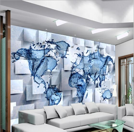 2015 1 sq m 3d personalizzato non tessuto pvc foto ikea On stencil per pareti ikea