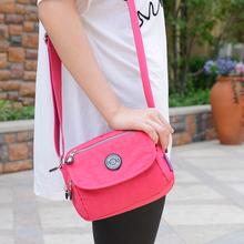 Waterproof Nylon Women Messenger Bags Small Purse Shoulder Travel 2016 Handbag Bolsa Tote Kip Style Women
