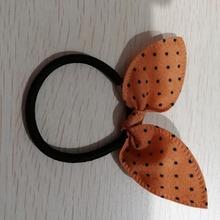 זול bandwear אלסטי שיער להקות 40mm Diamters גלימת שיער להקות לילדה ילדים בגד אביזרי גומי עבור שיער WDC1477(China)