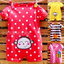 Infant clothes Summer Romper Jumpsuit climbing clothing baby 3 months 0-1 years old men and women goods shipping