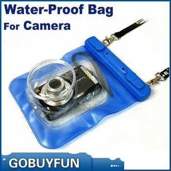 HOT! WP-018 camera waterproof bag , 140 x 175mm 20M Underwater Digital Camera Waterproof bag Case for Canon Sony free shipping