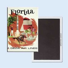Buy Vintage Travel Poster Florida 24101 Retro nostalgic fridge magnets for $3.48 in AliExpress store