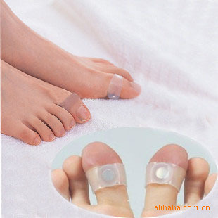 4pair Hot Guaranteed 100 New Original Magnetic Silicon Foot Massage Toe Ring Weight Loss Slimming Easy