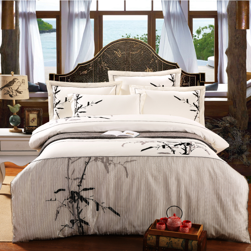 Love Life Museum Chinese Style Cotton Home Textile 100