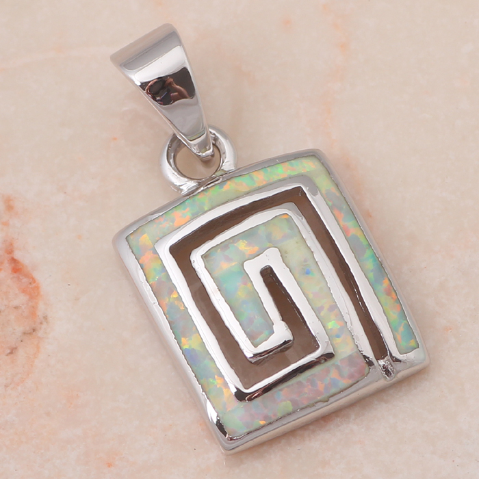 Elegant design Wholesale & Retail Light green & Orange Fire Opal sterling 925 Silver Necklace Pendants Fashion jewelry OP342(China (Mainland))
