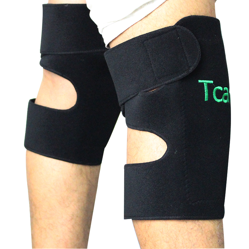 1 Pair Tourmaline Self Heating Kneepad Health Care Magnetic Therapy Massage Knee Support Knee Pads(China (Mainland))