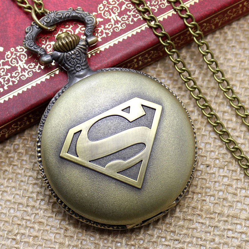 Fullmental Alchemist Deadpool Nightmare before christmas Captain America Police Fire Fighter Superman Pocket watch Free Shipping