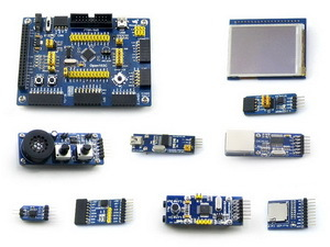 STM32 Board STM32F103CBT6 STM32F103 ARM Cortex-M3 STM32 Development Board Kit+ 9 Accessory Kits =Open103C Package B(China (Mainland))